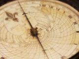 Compass needle swings